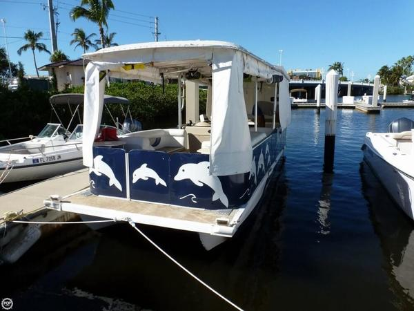 Used Bob Holmes 24 Deck Boat For Sale