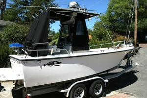 Used Shamrock 20 Open Fish Center Console Fishing Boat For Sale