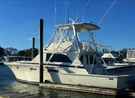 Used Bertram 46 6 Sports Fishing Boat For Sale