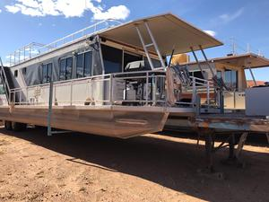 Used Myacht Custom 55x15 Houseboat House Boat For Sale
