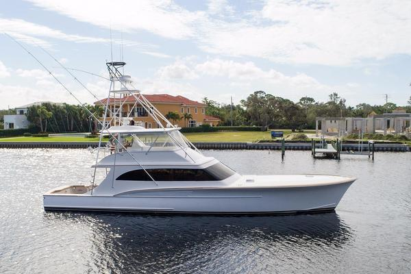 Used Jarrett Bay Custom Carolina Sportfisherman Convertible Fishing Boat For Sale