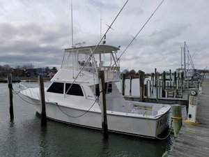 Used Henriques 38' Flybridge Sports Fishing Boat For Sale
