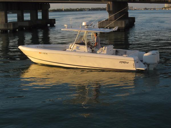 Used Intrepid 300 Center Console Tender Boat For Sale