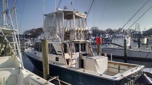 Used Henriques 35 Maine Coaster Flybridge Boat For Sale