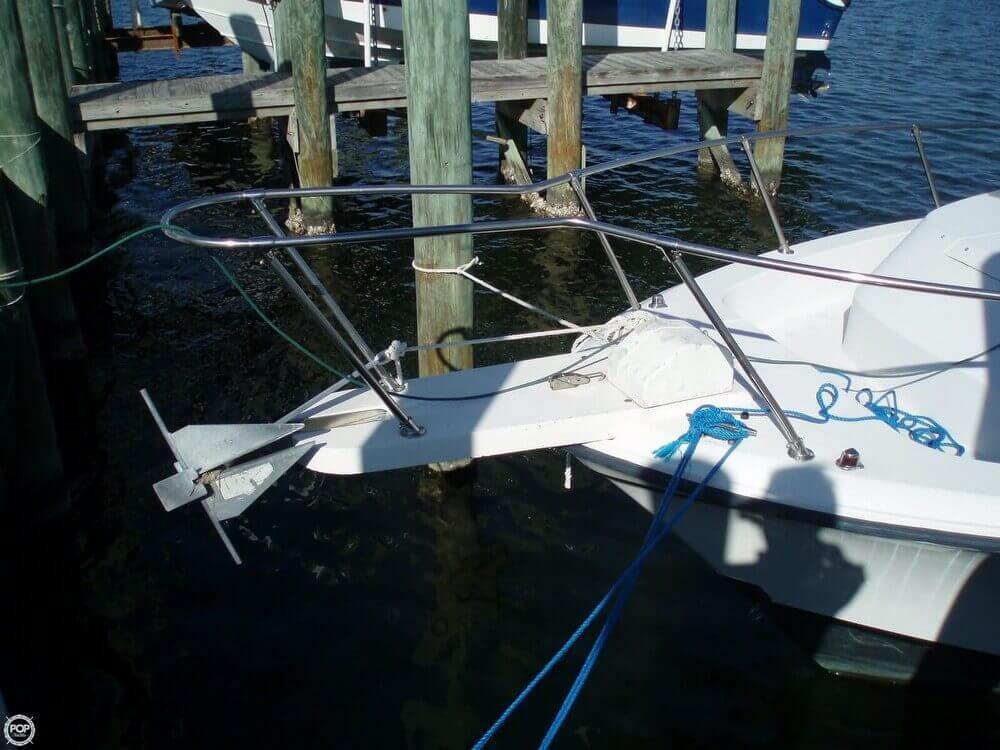 1989 used grady white 280 marlin walkaround fishing boat for Grady white fishing boats