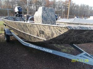 New Crestliner 1660 RETRIEVER FWD CONSOLE Jon Boat For Sale