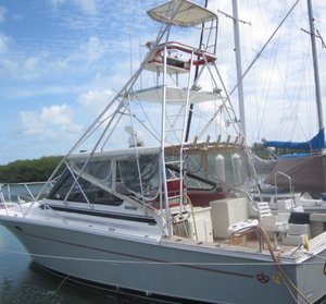 Used Blackfin Combi Express Cruiser Boat For Sale
