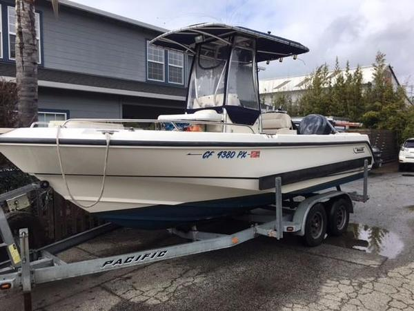 Used Boston Whaler 210 Outrage Saltwater Fishing Boat For Sale