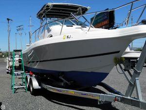 Used Caravelle Sea Hawk 230 Walkaround Fishing Boat For Sale