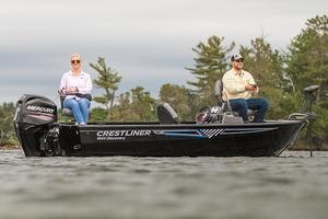 New Crestliner 1650 Discovery SC Aluminum Fishing Boat For Sale