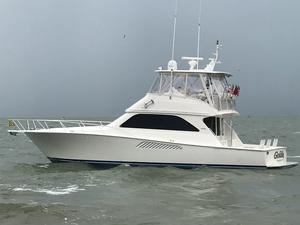 Used Viking 48 Convertible Freshwater Fishing Boat For Sale
