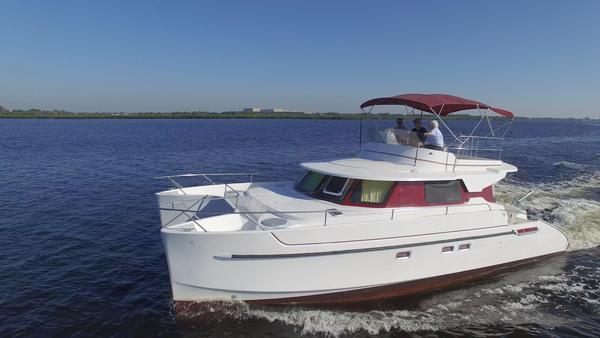Used Fountaine Pajot Maryland 37 Power Catamaran Boat For Sale