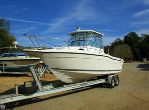 Used Seaswirl 2600 WA Walkaround Fishing Boat For Sale