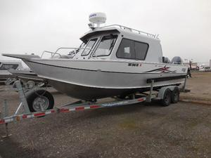 Used Hewescraft 26 Alaskan Aluminum Fishing Boat For Sale