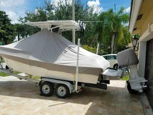 Used Pro Sports 2200 CC2200 CC Center Console Fishing Boat For Sale