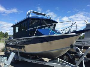 Used Hewescraft 220 Pacific Cruiser ET Aluminum Fishing Boat For Sale