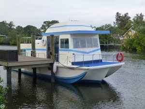 Used Holiday Mansion 40 House Boat For Sale