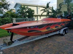 Used Active Thunder 24 Thunder Cat High Performance Boat For Sale