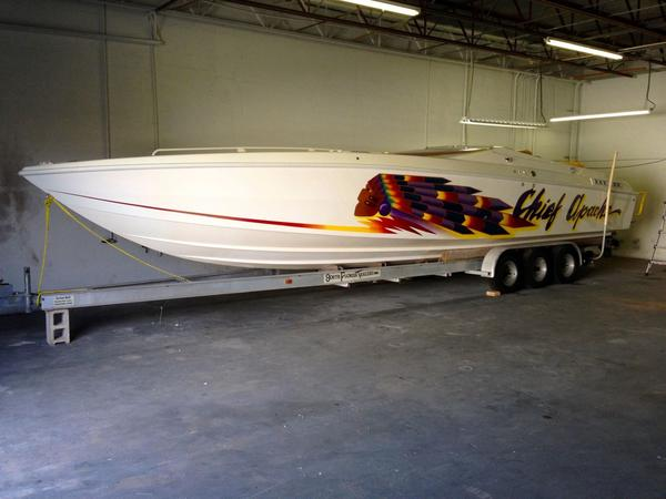 Used Apache Warpath High Performance Boat For Sale