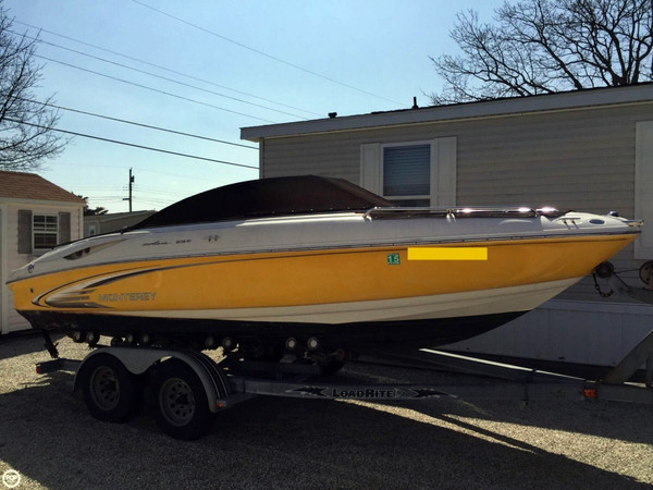 Used Monterey 208 Si Montura Bowrider Boat For Sale