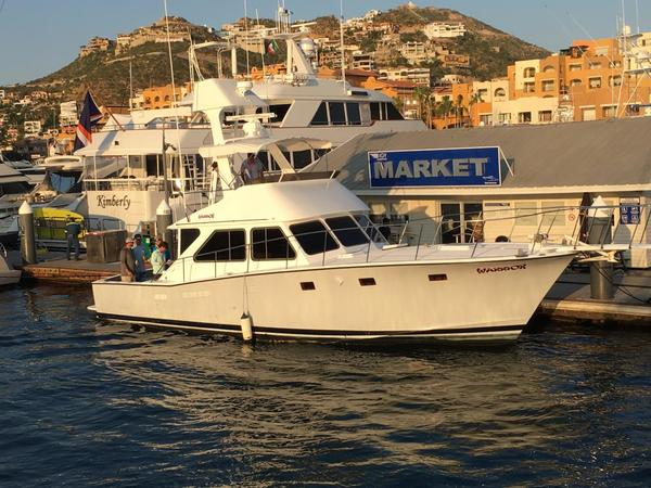 1978 Used Pacifica 44 Sportfisher Sports Fishing Boat For