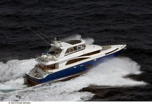 New Johnson Flybridge w/Fishing Cockpit Motor Yacht For Sale