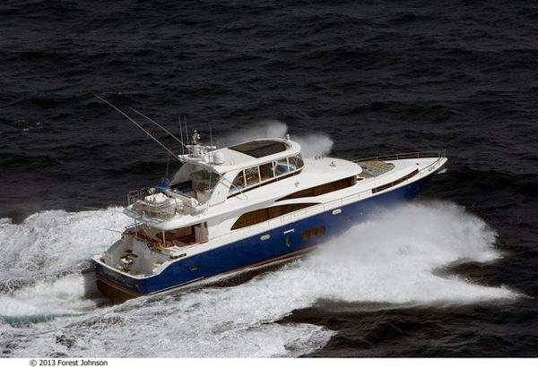 New Johnson Flybridge w/Fishing Cockpit Motor Yacht For Sale