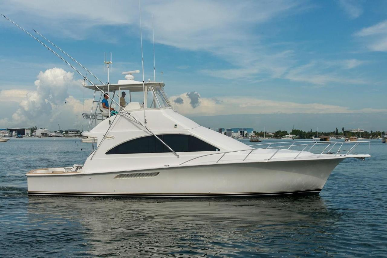 2005 used ocean yachts sports fishing boat for sale for Ocean fishing boats