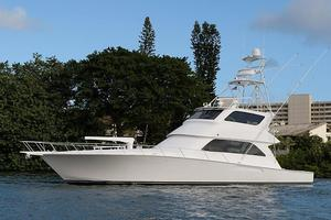Used Viking 74 Enclosed Bridge with Tower Sports Fishing Boat For Sale