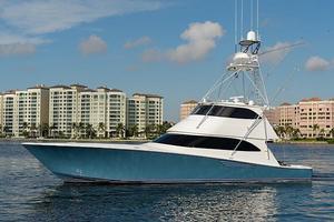 Used Viking 70 EB Sportfish w/ Seakeeper Sports Fishing Boat For Sale