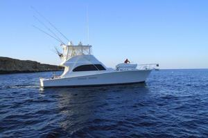 Used Post Marine 50 Convertible Sports Fishing Boat For Sale