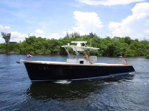 Used Marlow 37 Center Console Sports Fishing Boat For Sale
