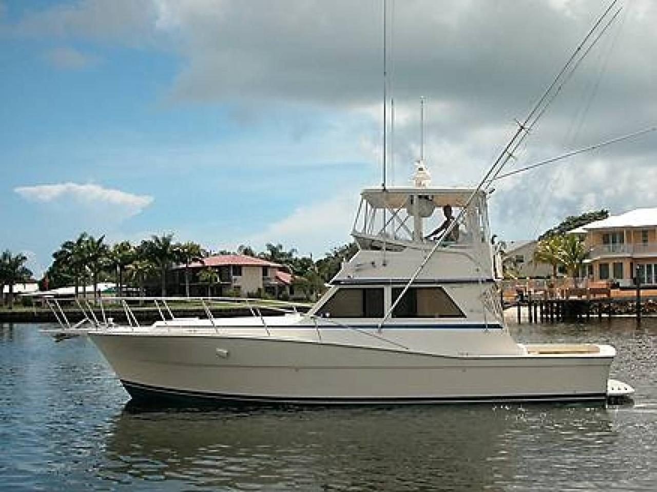 1986 used viking 41 convertible sports fishing boat for for Sport fishing boats