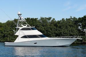 Used Viking 76 Enclosed Bridge Sports Fishing Boat For Sale