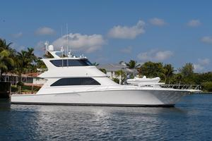 Used Viking Yachts Enclosed Sports Fishing Boat For Sale