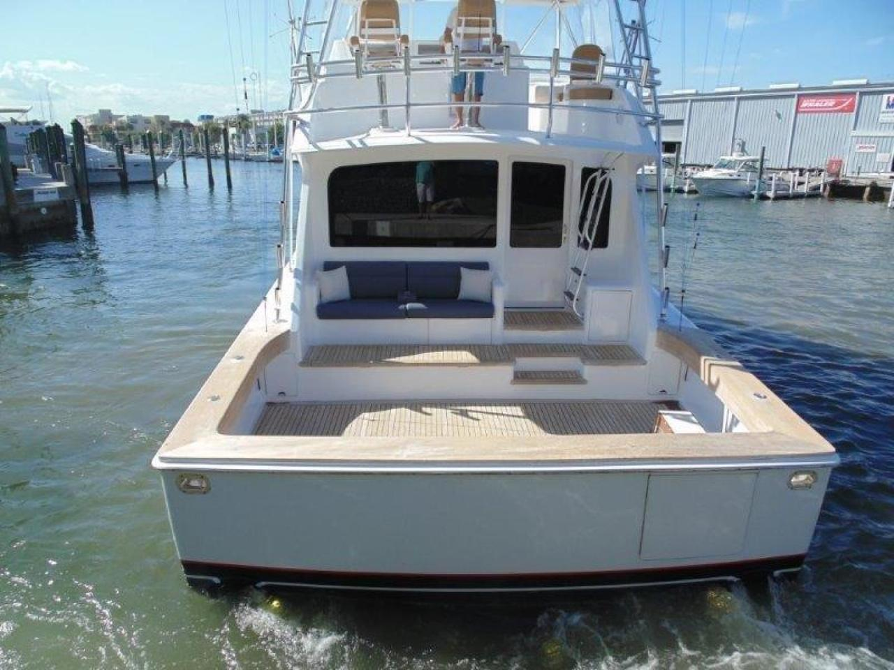 2001 used viking yachts sports fishing boat for sale for Viking fishing boat