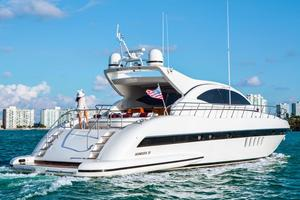 Used Mangusta 72 Express Cruiser Express Cruiser Boat For Sale