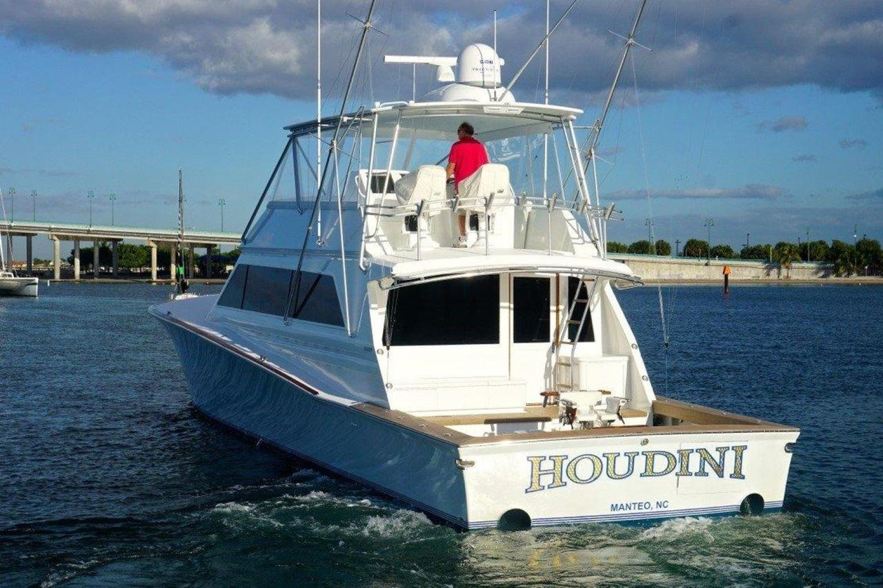 1999 used jim smith custom sportfish sports fishing boat for Custom fishing boats
