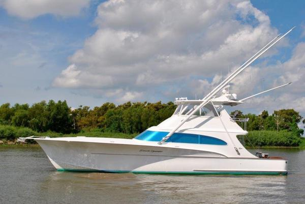 Used Sunny Briggs 58 Sportfisherman Convertible Fishing Boat For Sale