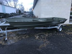 New Alumacraft 1848 Jon Boat For Sale