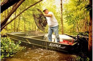 """New Alumacraft MV1648 NCS Sierra Jon w/ Floor - 15"""" Jon Boat For Sale"""