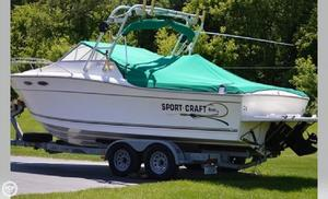 Used Sportcraft 232 GLS Sports Fishing Boat For Sale