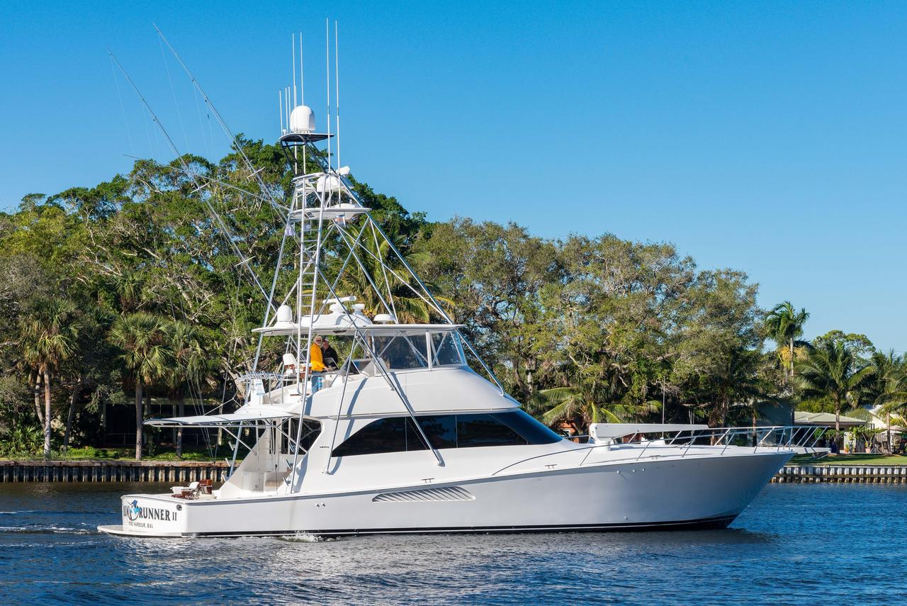 2008 used viking sports fishing boat for sale 1 375 000 for Fishing jupiter fl
