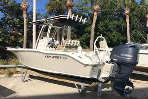 Used Key West 219 FS Sports Fishing Boat For Sale