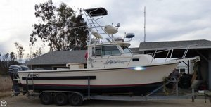 Used Parker Marine 2820 XL Walkaround Fishing Boat For Sale