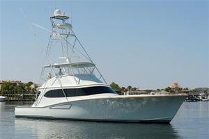 Used Mark Willis 65 Custom Sportfisherman Convertible Fishing Boat For Sale
