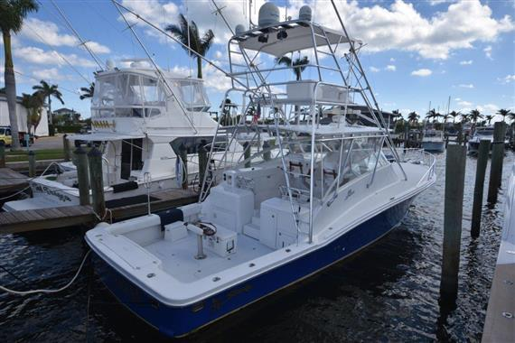 Used Strike 46 Sport Fisherman Express Sports Fishing Boat For Sale