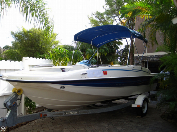 Used Bayliner 197 Deck Boat Deck Boat For Sale