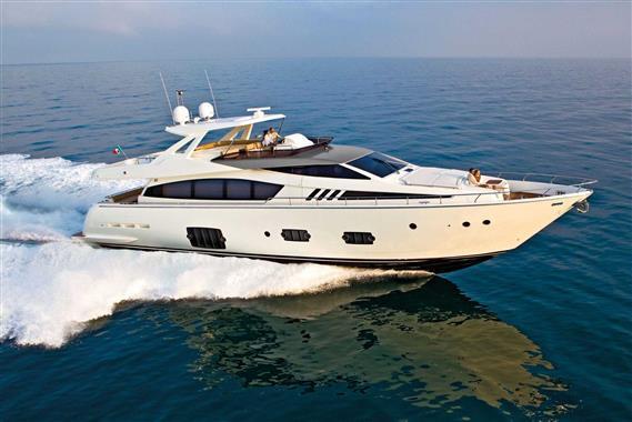 Used Ferretti 800 Motor Yacht For Sale