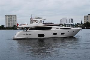 Used Ferretti 80' Motor Yacht For Sale
